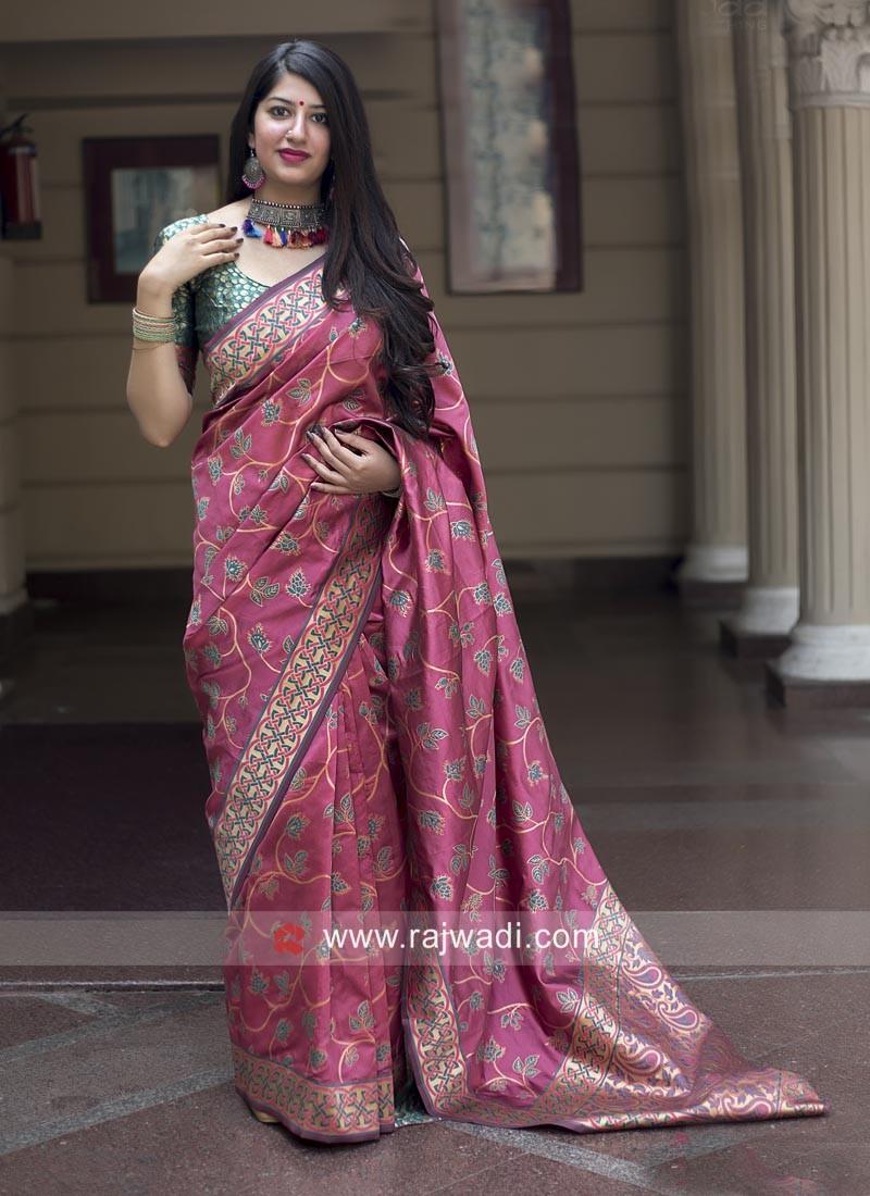 Wedding Designer Banarasi Silk Saree