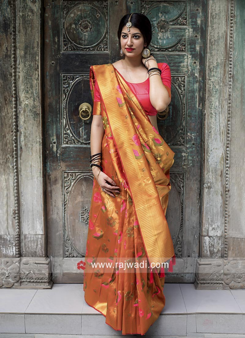 Wedding Designer Kanjeevaram Silk Saree