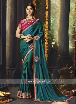 Wedding Designer Saree with Blouse