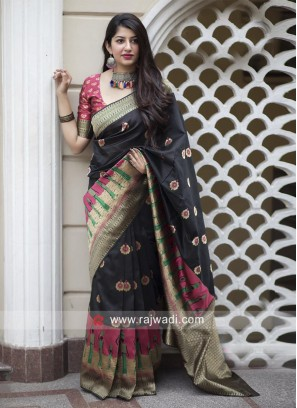 Wedding Designer Weaved Saree
