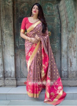Wedding Designer Weaving Saree