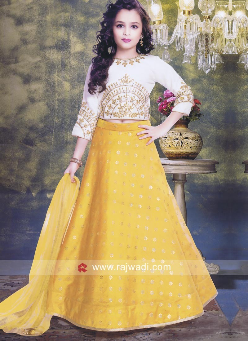 Wedding Embroidered Choli Suit