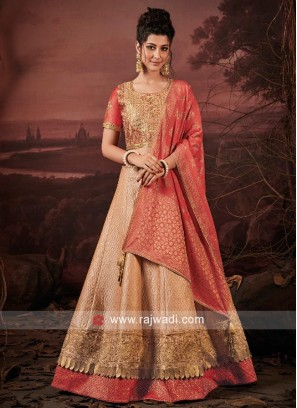 Wedding Embroidered Lehenga Choli