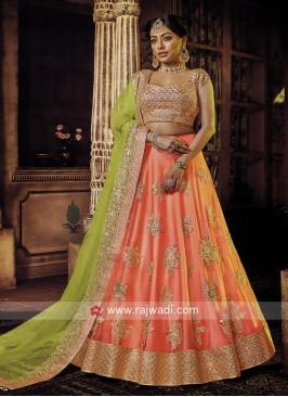 Wedding Embroidered Lehenga Choli