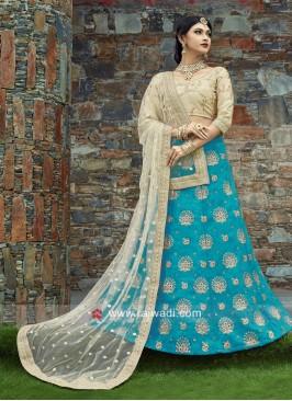 Wedding Embroidered Lehenga Set