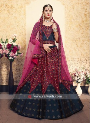 Wedding Embroidered Lehenga with Dupatta