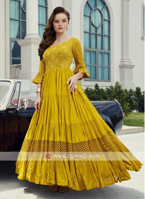 Wedding Floor Length Anarkali Dress