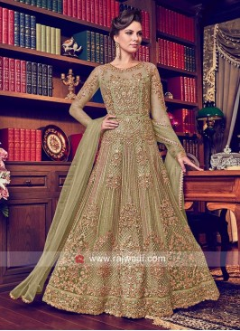 Wedding Floor Length Heavy Anarkali Suit