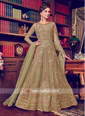 Wedding Floor Length Heavy Anarkali Suit