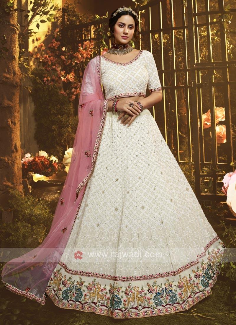 Wedding Georgette Lehenga Choli
