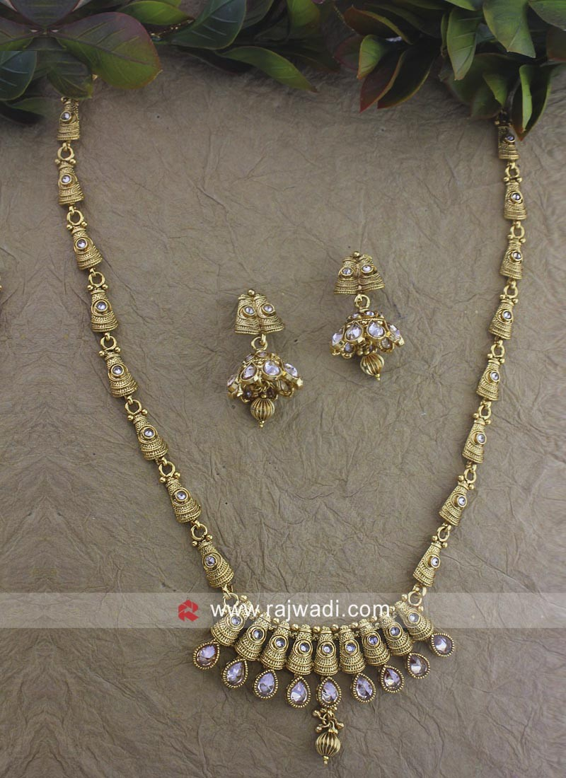 Wedding Golden Necklace Set