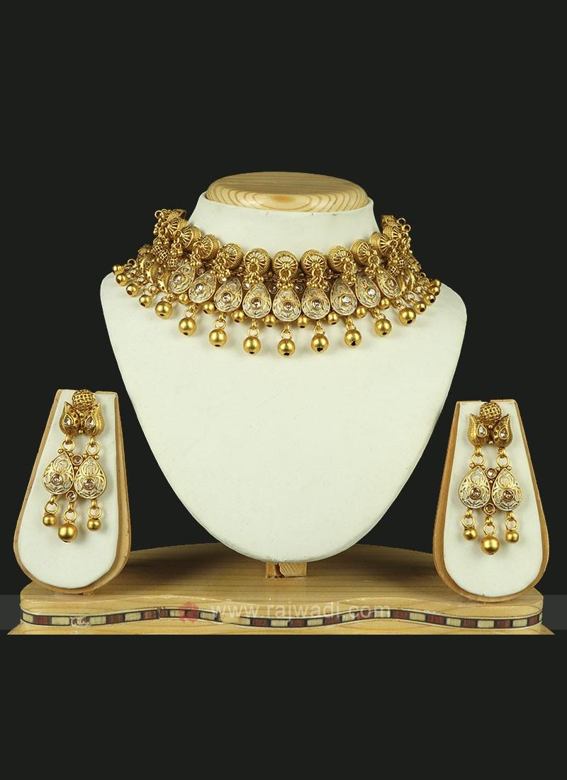 Wedding Golden Necklace Set