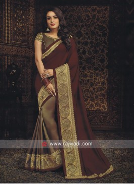 Wedding Half n Half Saree