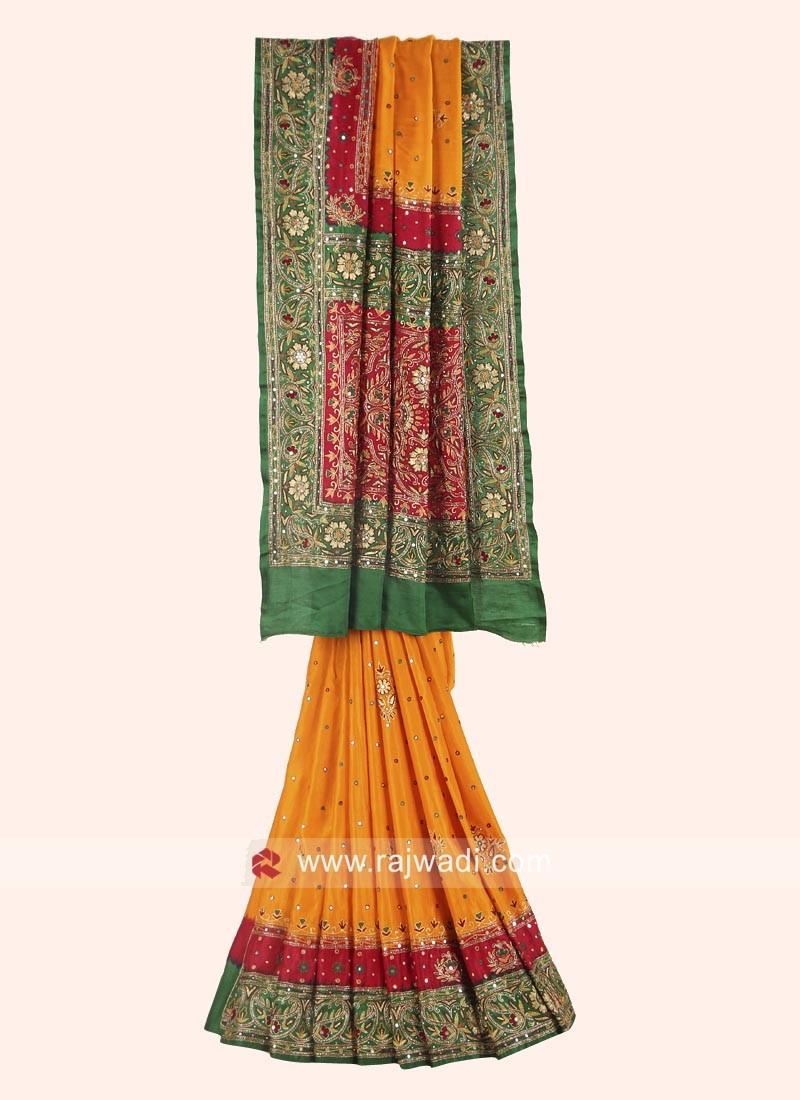 Wedding Heavy Panetar Saree