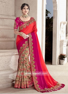 Wedding Heavy Work Saree