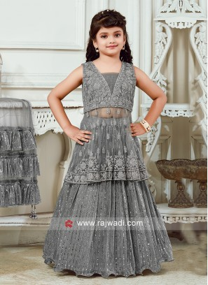 Wedding Lehenga Choli For Kids