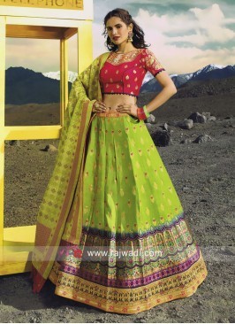 Wedding Lehenga Choli with Dupatta