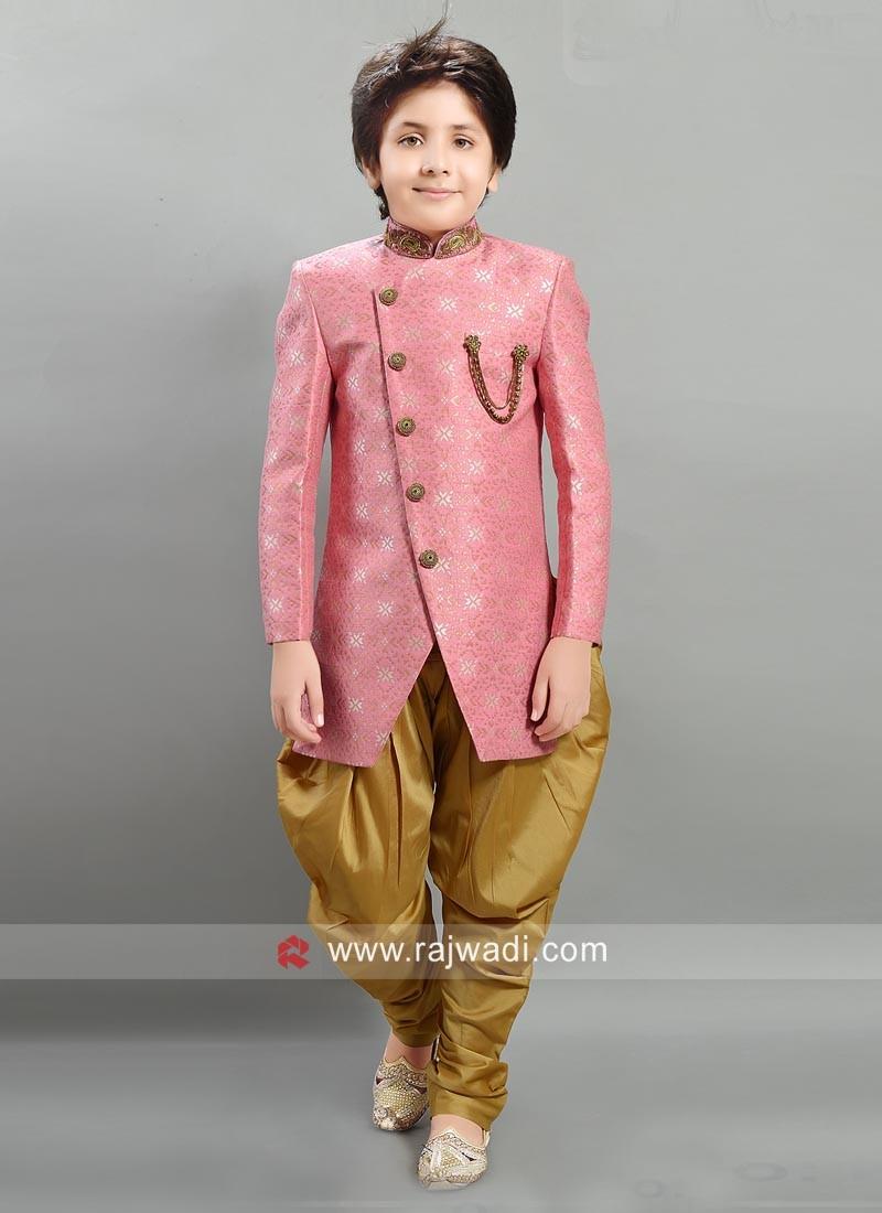 Wedding Light Pink Indo Western