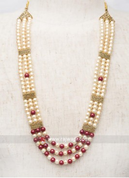 Wedding Pearl Mala For Men