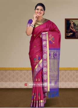 Wedding Pure Silk Weaved Saree