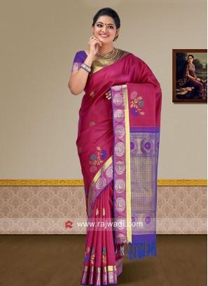 Wedding Pure Silk Weaved Saree