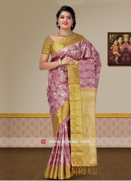 Wedding Pure Silk Woven Saree