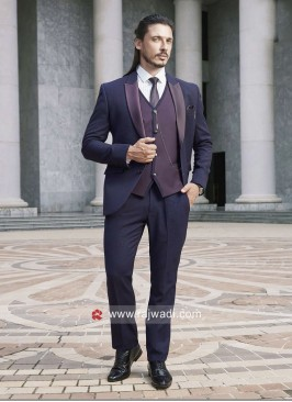 Wedding Purple Color Suit