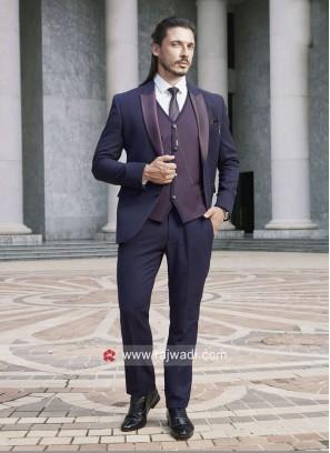 Wedding Purple Color Suit