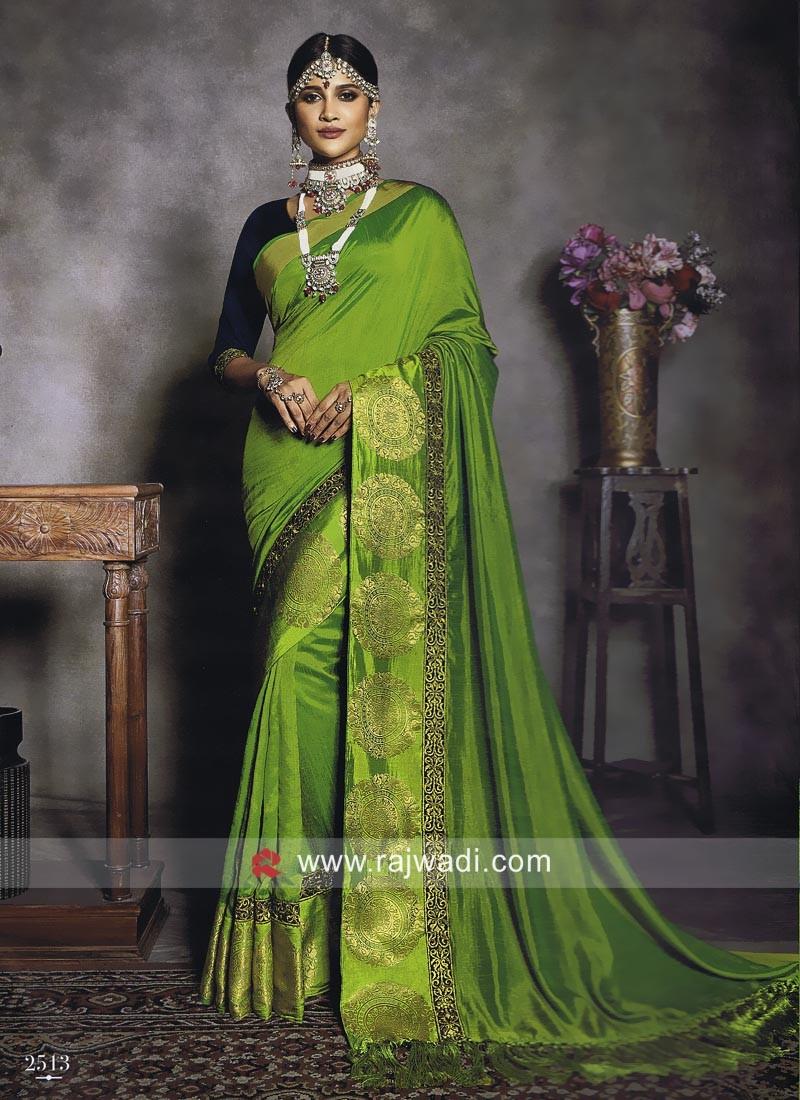 Wedding Reception Art Silk Saree