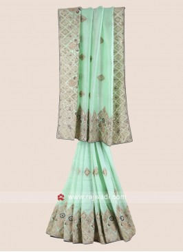 Wedding Reception Silk Saree