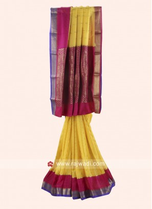 Wedding Reception Woven Saree
