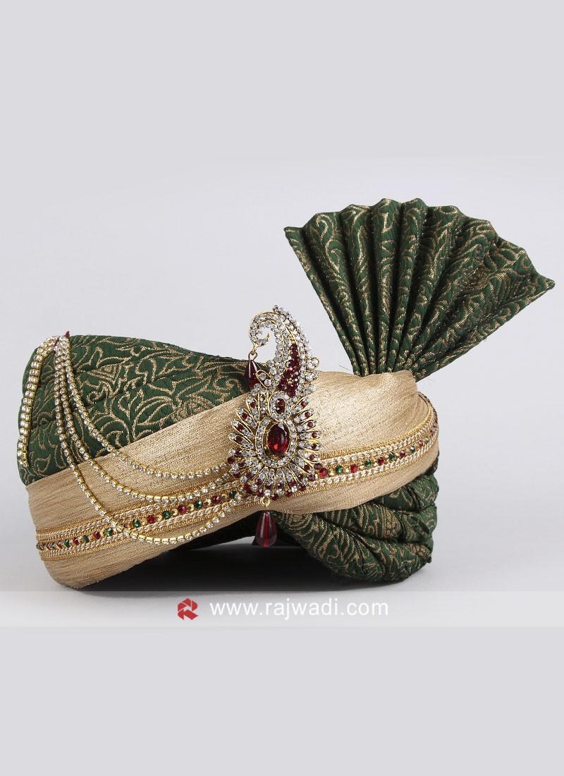 Wedding Brocade Silk Safa