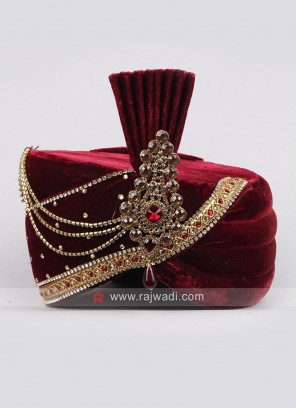 Wedding Royal Safa with Fancy Broach