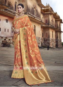 Wedding Saree in Banarasi Silk
