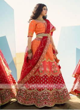 Wedding Silk Lehenga Choli