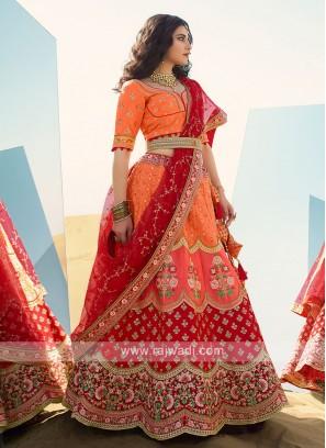 Wedding Silk Lehenga Choli