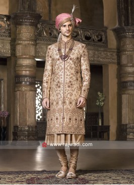 Wedding Silk Sherwani