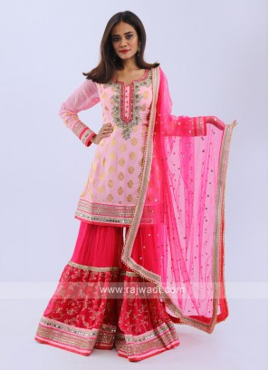 Wedding Style Gharara Suit