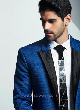 Wedding Suit in Royal Blue