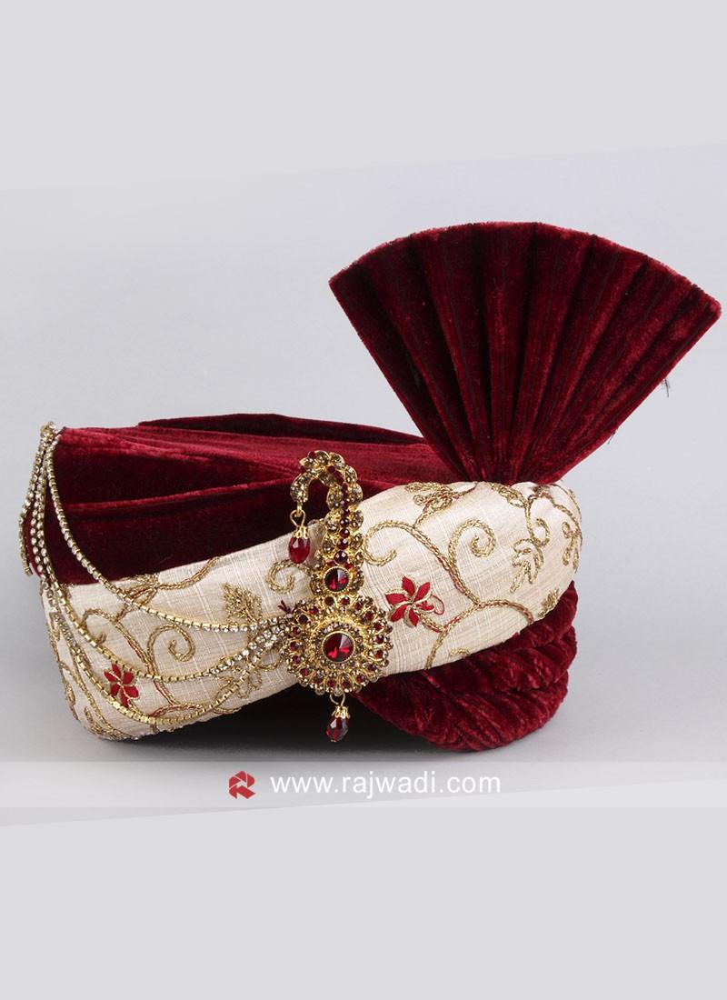 Wedding Velvet Fabric Safa