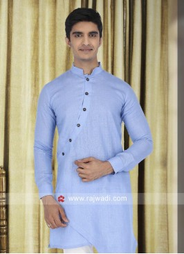 Wedding Wear Linen Kurta