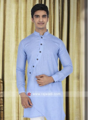 Wedding Wear Linen Kurta