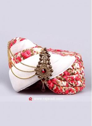 Wedding Wear Art Silk Turban