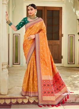Wedding Wear Banarasi saree