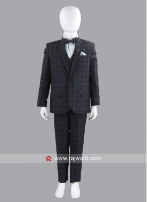 Wedding Wear Boys Grey Suit