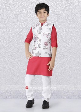 Wedding Wear Boys Nehru Jacket