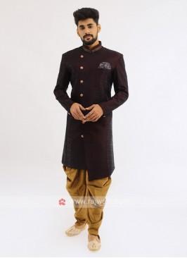 Wedding Wear Brocade Silk Indo Western