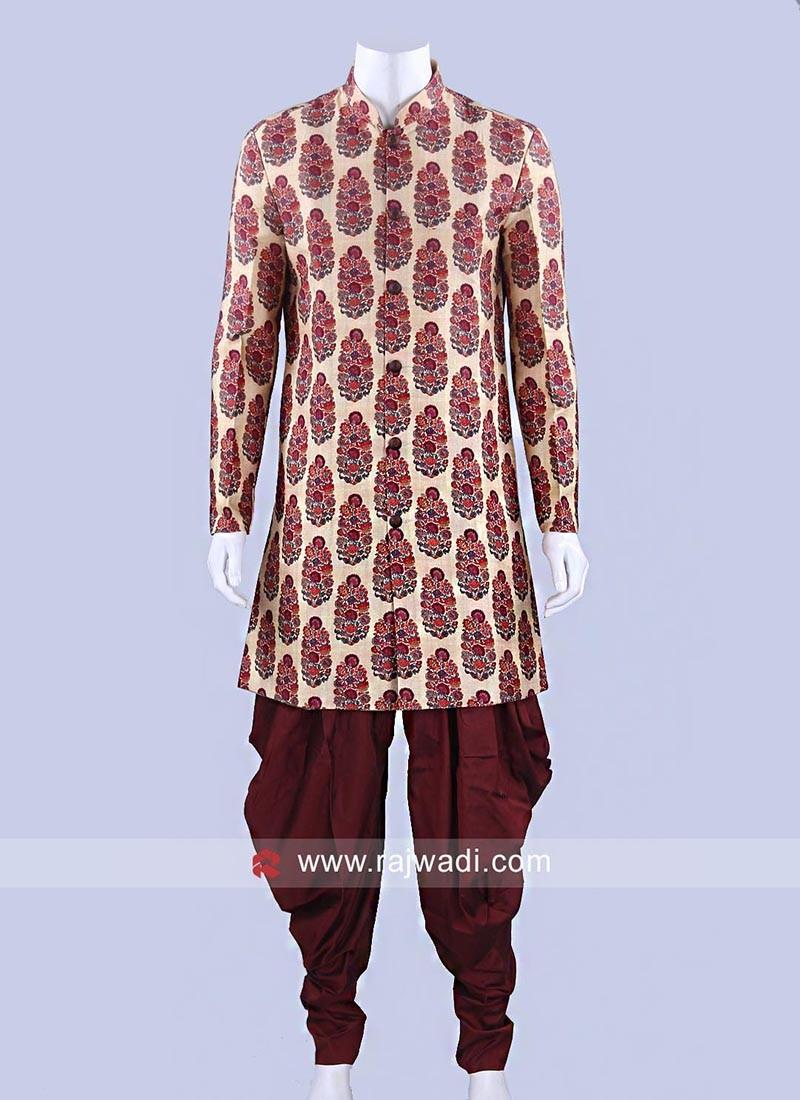 Wedding Wear Cotton Silk Patiala Suit