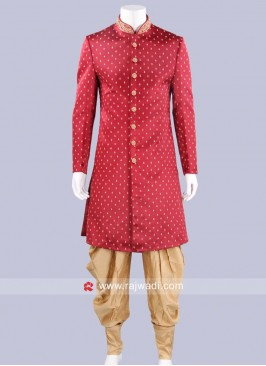 Wedding Wear Indo Western Sherwani