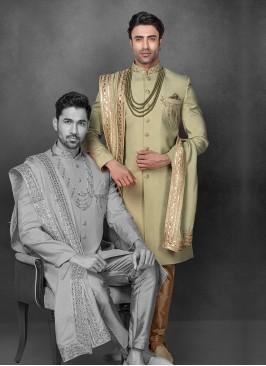 Wedding Wear Indowestern For Groom